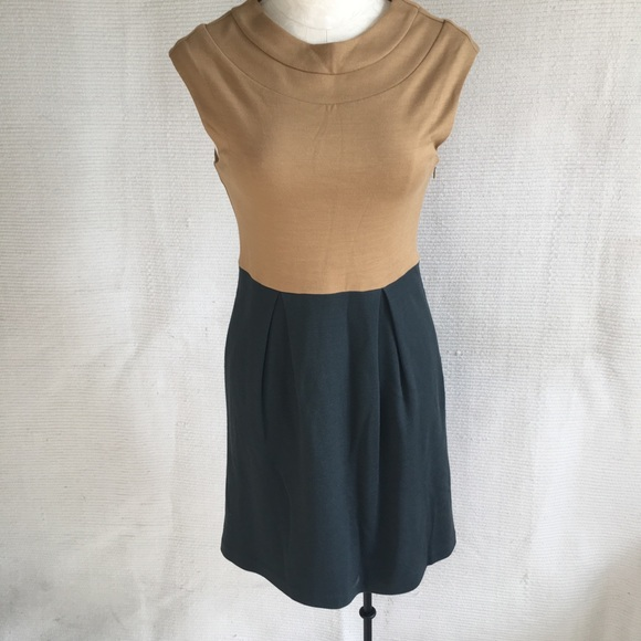 Anthropologie Dresses & Skirts - Tibi Wool Blend Dress 2/4 Retro Colorblocked Dress